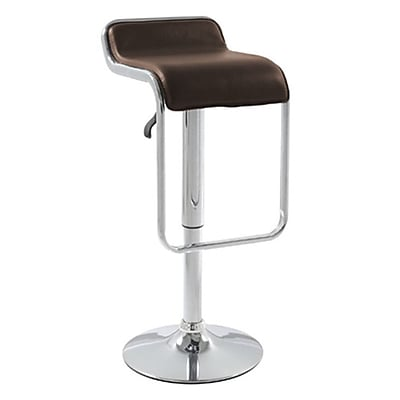 Fine Mod Imports Flat Bar Stool Chair, Brown (FMI2124-brown)