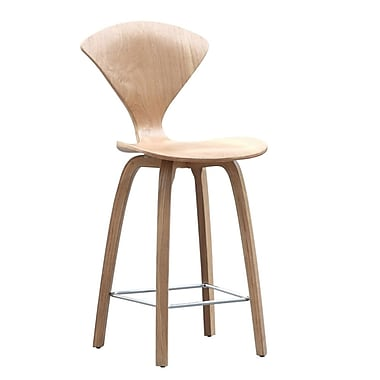 Fine Mod Imports Wooden Counter Chair 25