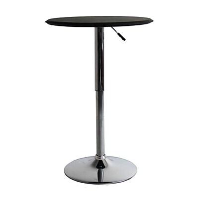 Fine Mod Imports Adjustable Bar Table, Black