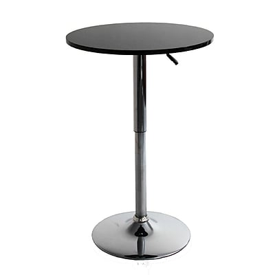 Fine Mod Imports Meet Bar Table, Black (FMI10167-black)