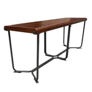 "Fine Mod Imports Solid Bench 48"", Brown (FMI10161-brown)"