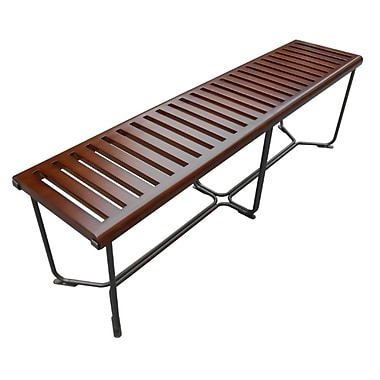 Fine Mod Imports Solid Bench 60