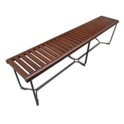 "Fine Mod Imports Solid Bench 72"", Brown (FMI10163-brown)"