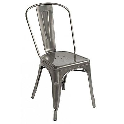 Fine Mod Imports Talix Chair, Gunmetal (FMI10014-gunmetal)