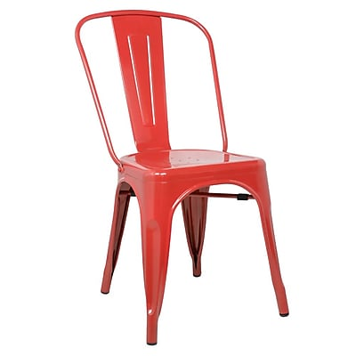 Fine Mod Imports Talix Chair, Red (FMI10014-red)