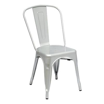 Fine Mod Imports Talix Chair, Silver (FMI10014-silver)