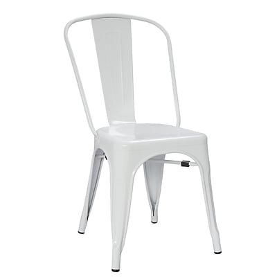 Fine Mod Imports Talix Chair, White (FMI10014-white)