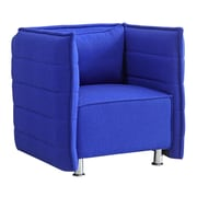 Fine Mod Imports Sofata Chair, Blue (FMI10185-blue)