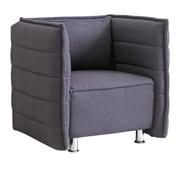 Fine Mod Imports Sofata Chair, Gray (FMI10185-gray)