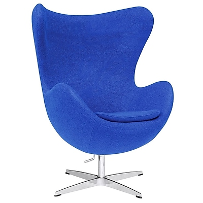Fine Mod Imports Inner Chair Fabric, Blue (FMI1129-blue)