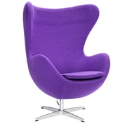 Fine Mod Imports Inner Chair Fabric, Purple (FMI1129-purple)