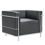Fine Mod Imports Grand Lc3 Chair, Black (FMI2202-black)