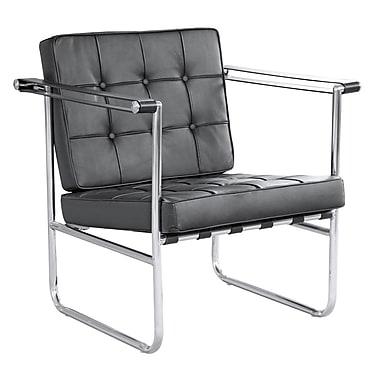 Fine Mod Imports Celona Chair, Black (FMI9247-black)