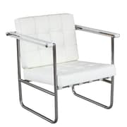 Fine Mod Imports Celona Chair, White (FMI9247-white)