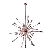 "Fine Mod Imports Spark Hanging Chandelier 39"", Copper (FMI8010-39-copper)"