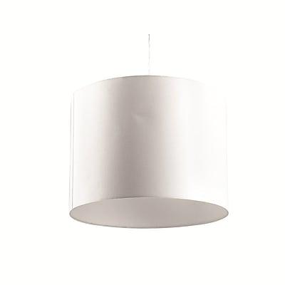 Fine Mod Imports Modern Hanging Lamp, White (FMI9243-white)
