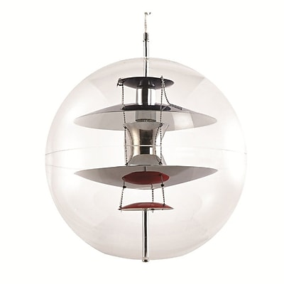 Fine Mod Imports World Hanging Lamp, Clear (FMI9285-clear)