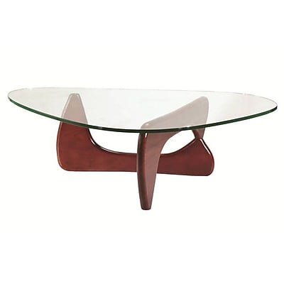 Fine Mod Imports Tribeca Coffee Table, Cherry (FMI1119-cherry)