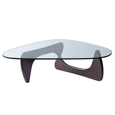 Fine Mod Imports Tribeca Coffee Table, Dark Walnut (FMI1119-darkwalnut)