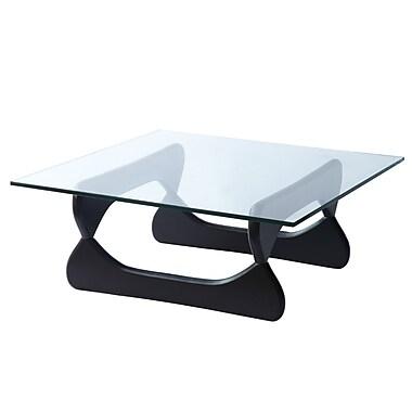 Fine Mod Imports Guchi Coffee Table, Black (FMI8005-black)
