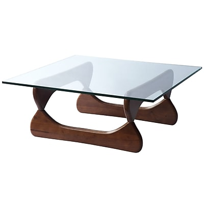 Fine Mod Imports Guchi Coffee Table, Walnut (FMI8005-walnut)
