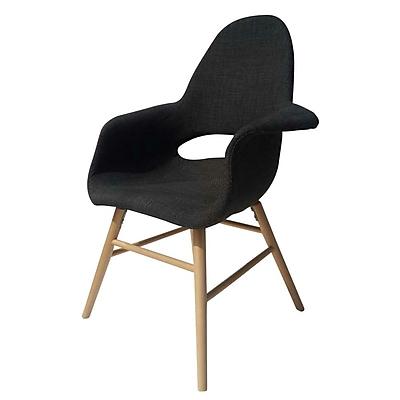 Fine Mod Imports Eero Dining Chair, Gray (FMI10033-gray)