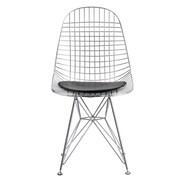 Fine Mod Imports Eiffel Dining Chair, Black (FMI10036-black)
