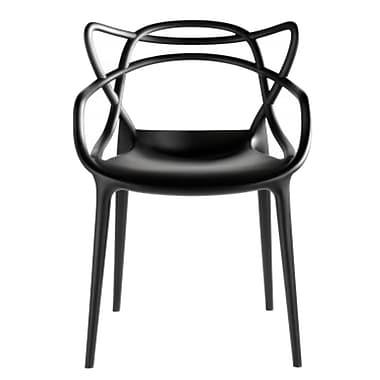 Fine Mod Imports Brand Name Dining Chair, Black (FMI10067-black)