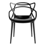 Fine Mod Imports Brand Name Dining Chair, Black (FMI10067-black)