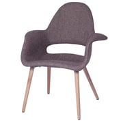 Fine Mod Imports Forza Dining Chair, Brown (FMI10086-brown)