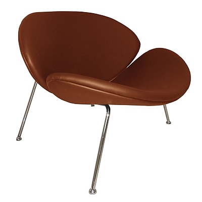 Fine Mod Imports Slice Chair, Light Brown (FMI10090-light brown)