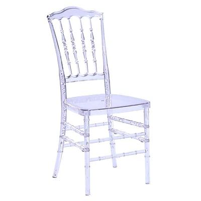 Fine Mod Imports Arca Dining Chair, Clear (FMI10093-clear)