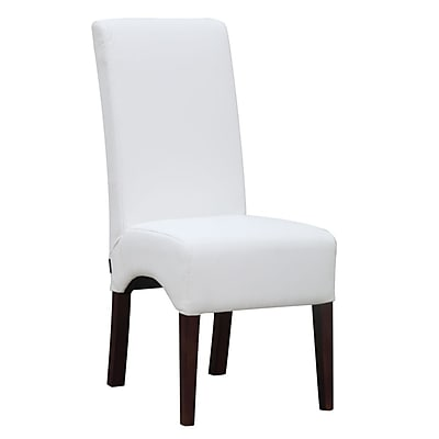 Fine Mod Imports Dinata Dining Chair, White (FMI10155-white)
