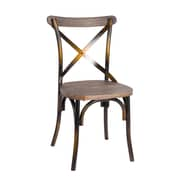 Fine Mod Imports Porch Dining Chair, Copper (FMI10231-copper)