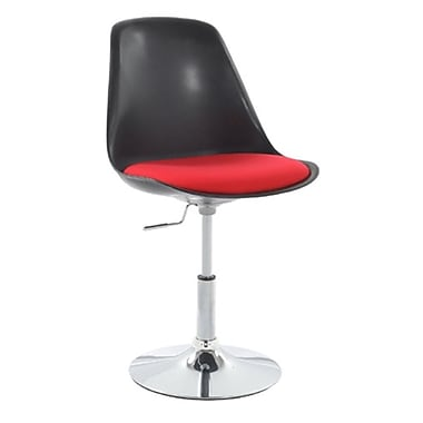 Fine Mod Imports Lilly Side Chair, Black (FMI2129-black)