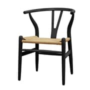 Fine Mod Imports Woodstring Dining Chair, Black (FMI4004-black)