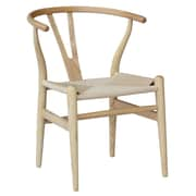 Fine Mod Imports Woodstring Dining Chair, Natural (FMI4004-natural)