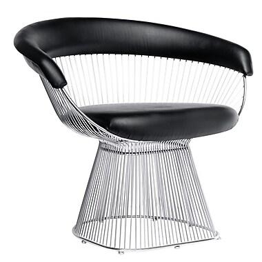Fine Mod Imports Libo Chair, Black (FMI9229-black)