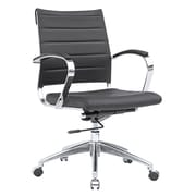Fine Mod Imports Sopada Conference Office Chair Mid Back, Black (FMI10077-black)