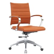 Fine Mod Imports Sopada Conference Office Chair Mid Back, Light Brown (FMI10077-light brown)