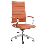 Fine Mod Imports Sopada Conference Office Chair High Back, Light Brown (FMI10078-light brown)