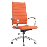 Fine Mod Imports Sopada Conference Office Chair High Back, Orange (FMI10078-orange)