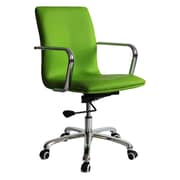Fine Mod Imports Confreto Conference Office Chair Mid Back, Green (FMI10170-green)