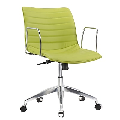 Fine Mod Imports Comfy Office Chair Mid Back, Green (FMI10224-green) 2374002