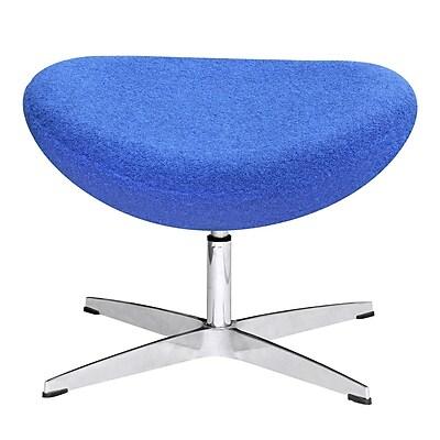 Fine Mod Imports Inner Ottoman Fabric, Blue (FMI1208-F-blue)