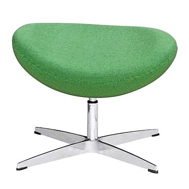 Fine Mod Imports Inner Ottoman Fabric, Green (FMI1208-F-green)