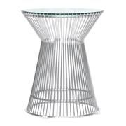 Fine Mod Imports Platner Side Table, Glass (FMI10082-glass)