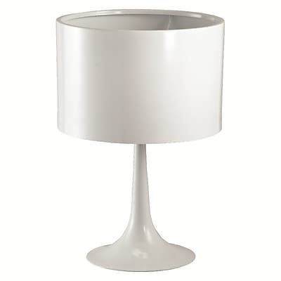 Fine Mod Imports Tulip Table Lamp, White (FMI4000-white)