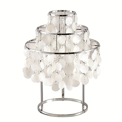 Fine Mod Imports Pearl Table Lamp, Mother of Pearl (FMI9280-pearl)
