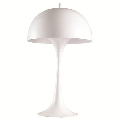 Fine Mod Imports Panton Table Lamp, White (FMI9284-white)